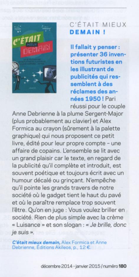 article Détours en F