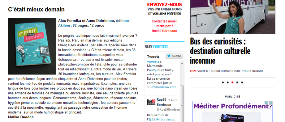article rue 89