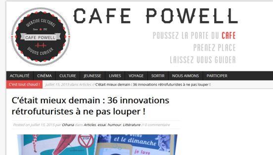 café powell C'était mieux demain